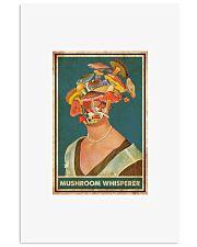 Mushroom whisperer 11x17 Poster front