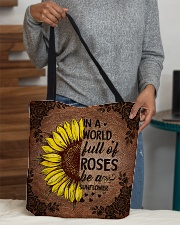 In a world full of roses All-over Tote aos-all-over-tote-lifestyle-front-10