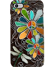 Hippie soul leather pattern print Phone Case i-phone-8-case