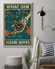 What One Hand Gives 11x17 Poster lifestyle-poster-1