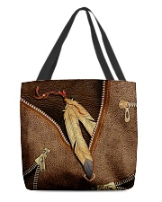 Native American India feather All-over Tote front