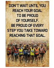Be proud of every step 11x17 Poster front