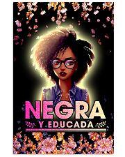 Negra y Educada 11x17 Poster front