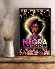 Negra y Educada 11x17 Poster lifestyle-poster-3