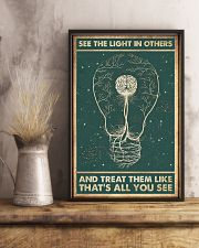 See the light in others 11x17 Poster lifestyle-poster-3