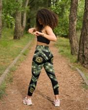 Autism Camouflage High Waist Leggings aos-high-waist-leggings-lifestyle-17
