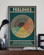 Feelings are much like waves 11x17 Poster lifestyle-poster-2