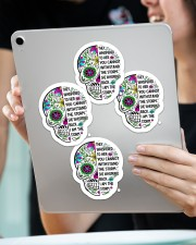 They whispered to her Sticker - 4 pack (Vertical) aos-sticker-4-pack-vertical-lifestyle-front-11