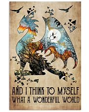 And I think to myself 11x17 Poster front