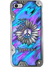 Hippie Soul Metal Pattern Print Phone Case i-phone-8-case