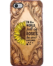 In a world full of roses Phone Case i-phone-8-case