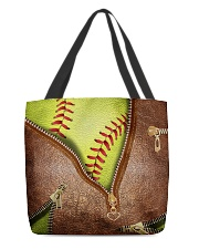 Softball tote  All-over Tote back