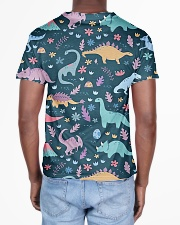 Dinosaurs  All-over T-Shirt aos-all-over-T-shirt-lifestyle-back-02
