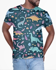 Dinosaurs  All-over T-Shirt aos-all-over-T-shirt-lifestyle-front-04