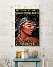 They whispered to her 11x17 Poster lifestyle-holiday-poster-3