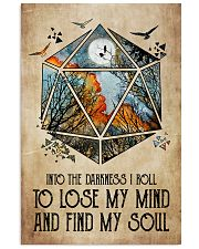 And into the darkness I roll 11x17 Poster front
