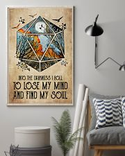 And into the darkness I roll 11x17 Poster lifestyle-poster-1