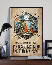 And into the darkness I roll 11x17 Poster lifestyle-poster-2