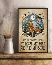 And into the darkness I roll 11x17 Poster lifestyle-poster-3