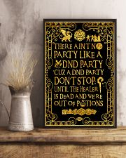 There ain't no party 11x17 Poster lifestyle-poster-3