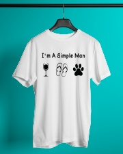 I'm A Simple Man Dog Lover T shirt Classic T-Shirt lifestyle-mens-crewneck-front-3
