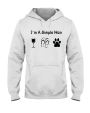 I'm A Simple Man Dog Lover T shirt Hooded Sweatshirt tile