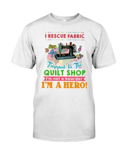 I Rescue Fabric