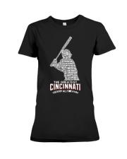 The Greatest Cincinnati Of All Time Premium Fit Ladies Tee thumbnail