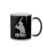 The Greatest Cincinnati Of All Time Color Changing Mug thumbnail