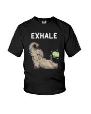 Elephant Yoga Youth T-Shirt thumbnail