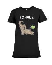 Elephant Yoga Premium Fit Ladies Tee thumbnail