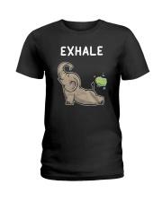 Elephant Yoga Ladies T-Shirt thumbnail