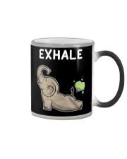 Elephant Yoga Color Changing Mug thumbnail