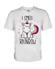 I smell rainbow V-Neck T-Shirt thumbnail
