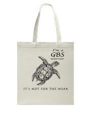 GBS warrior Tote Bag thumbnail