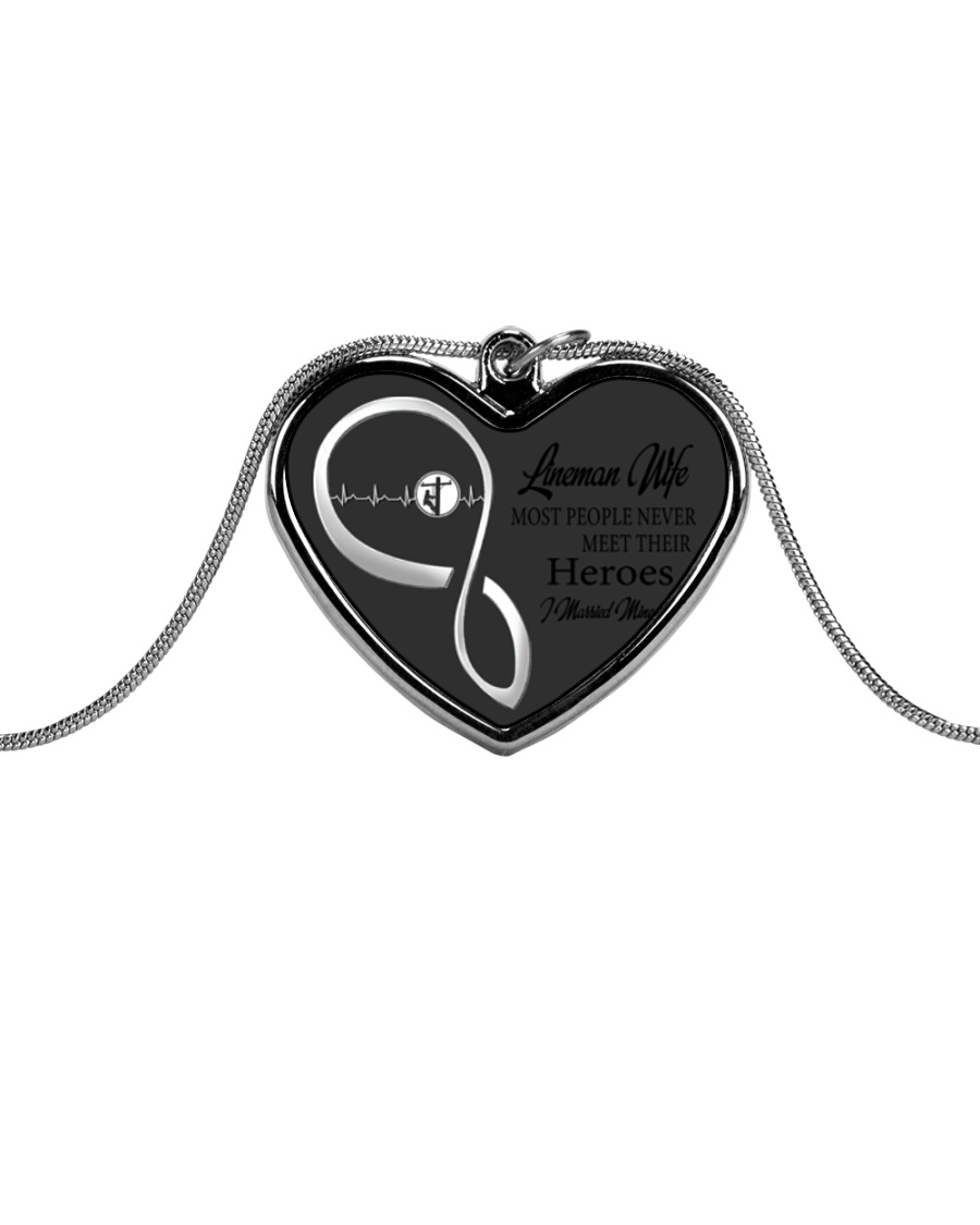 Limited Edition Metallic Heart Necklace