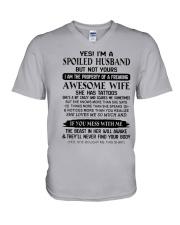 Spoiled Husband V-Neck T-Shirt thumbnail
