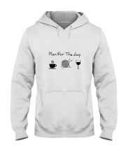 Plan For The Day Knitting Hooded Sweatshirt thumbnail