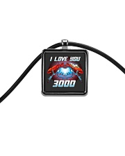 I love you 3000 Cord Rectangle Necklace thumbnail