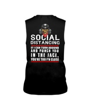 social distancing biker Sleeveless Tee tile