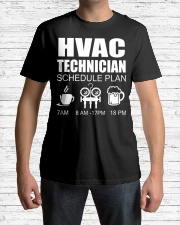 HVAC SCHEDULE PLAN Classic T-Shirt lifestyle-mens-crewneck-front-1