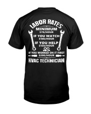 HVAC TECH RATE Classic T-Shirt thumbnail