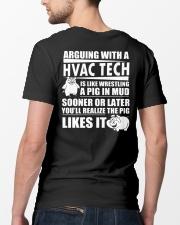 HVAC TECH FUNNY SHIRT Classic T-Shirt lifestyle-mens-crewneck-back-5