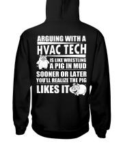 HVAC TECH FUNNY SHIRT Hooded Sweatshirt thumbnail