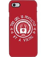 this girl protected by a viking Phone Case thumbnail