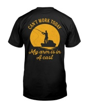 Can't Work Today Premium Fit Mens Tee back