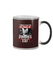 My Cat And Zombies Color Changing Mug thumbnail