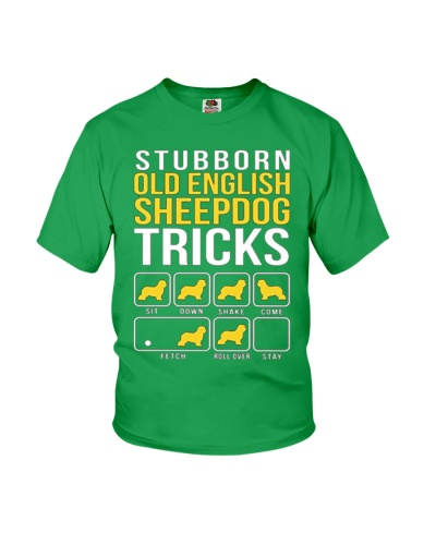 Stubborn Old English Sheepdog Tricks