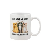CATS MAKE ME HAPPY Mug thumbnail