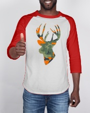Deer Head Country Buck Fashion Hunting Gift Baseball Tee apparel-baseball-tee-lifestyle-08